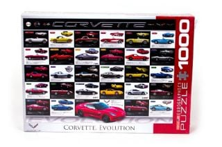 Corvette Evolution Jigsaw Puzzle
