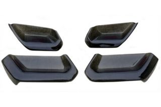 14-18 Molded Acrylic Tail Light Black-Out