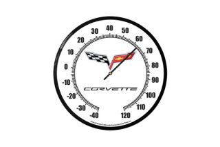 C6 Corvette 14in Thermometer