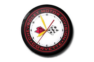 Chevrolet Motor Division Corvette 20in Neon Clock