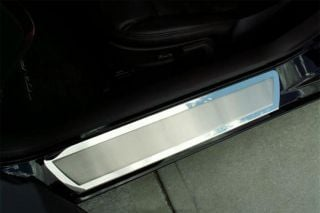 05-13 Stainless Door Sills w/Brushed Insert