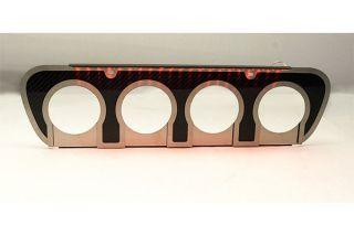 14-19 w/o NPP Carbon Fiber Exhaust Filler Panel - Illuminated