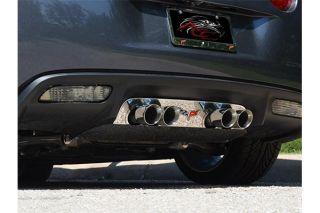 05-13 Stainless Exhaust Port Filler Panel w/Emblem