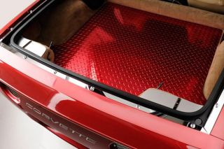 97-04 Stainless Rear Hatch Catch Plate