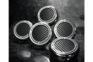 97-13 Auto Slotted Carbon Fiber Engine Cap Cover Set (5pc)