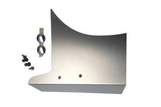 14-19 Polished Stainless Fan Shroud Cover
