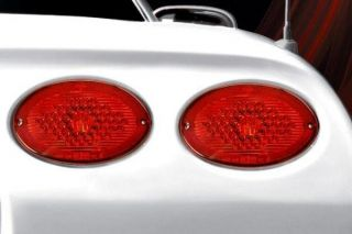 97-04 Max Red LED Tail Light Set