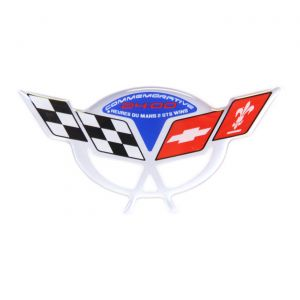 04 Commemorative Air Intake Duct Domed Emblem