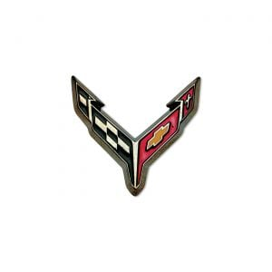 20-21 Corvette Carbon Flash Lapel Pin