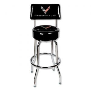 Next Generation Corvette Counter Stool w/Backrest