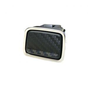 14-19 Carbon Fiber Look Starter Button Decal