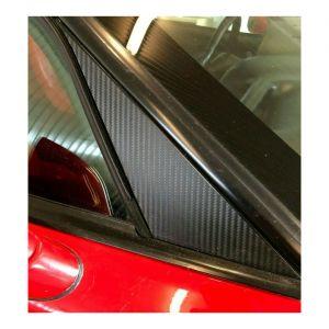 97-04 Windshield A-Pillar Carbon Fiber Vinyl