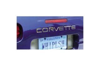 """1991-1996 Corvette """"Corvette"""" Vinyl Lettering Kit (Front & Rear)"""