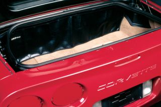 1998-2004 Corvette Trunk Curtain