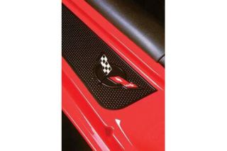 1997-2004 Corvette Factory Sill Protector Decals