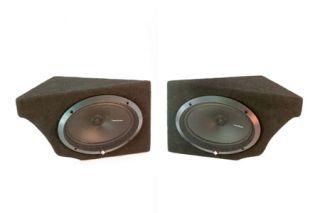 68-77 Rear Speaker Housings w/o Speakers (Default)