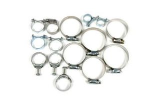 1971-1974 Corvette 454 w/AC Cooling System Hose Clamp Kit