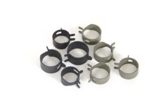 65 327 & 396 w/Holley Fuel System Hose Clamp Kit