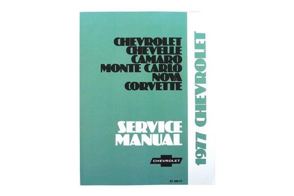 1977 Corvette Shop Service Manual