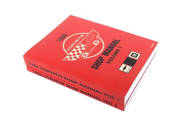 1986 Corvette Shop Service Manual