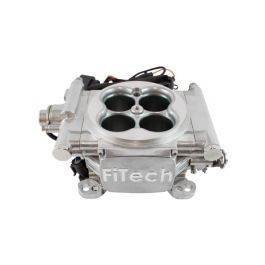 57-82 FiTech Go EFI 4 600hp Fuel Injection System (Bright Aluminum)