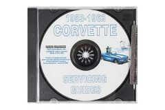 1953-1962 Corvette Shop/Service Manual on CD