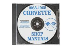 1963-1965 Corvette Shop/Service Manual on CD