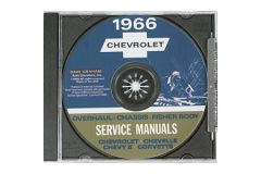 1966 Corvette Shop/Service Manual on CD