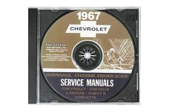 1967 Corvette Shop/Service Manual on CD