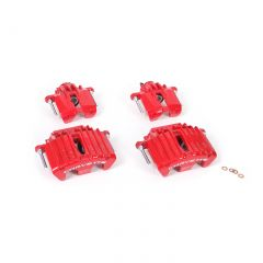 97-04 Brake Caliper Kit (Powdercoated Red Calipers)