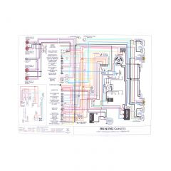 53-54 & 55 6-cyl Color Wiring Diagram (11 x 17)