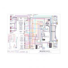 55 V8 Color Wiring Diagram (11 x 17)
