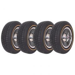 65 Knock-Off Wheel Set (Replica) & Tire Package (Select Tire Package)