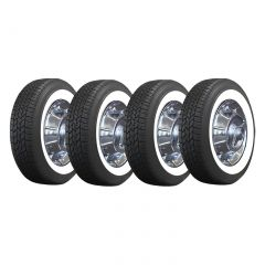 56-62 15 x 5 Steel Wheel & Tire Package (Select Tire Application)