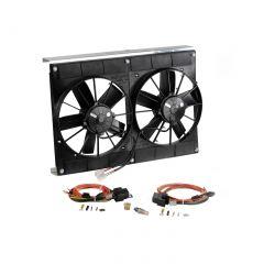 05-13 Direct Fit Radiator SPAL Dual Fan Cooling System Upgrade (Short Radiator)