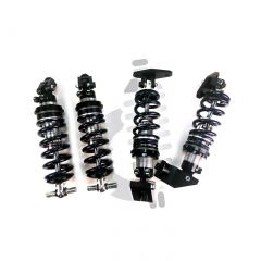 88 Front & Rear Coilover System (Single Adjustable - Aggressive Springs)