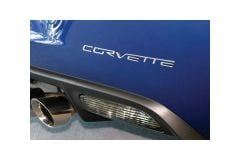 05-13 Rear Bumper Stainless Letters