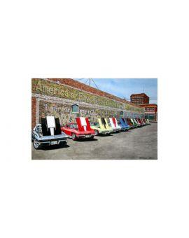 Stingers - Dana Forrester Corvette Print (11x17 Giclee)