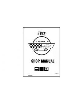 1985 Corvette Shop/Service Manual