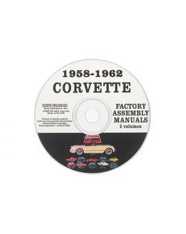1958-1962 Corvette Assembly Manuals on CD