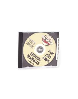 86-87 Shop/Service Manual on CD