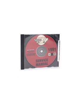 91 Shop/Service Manual on CD