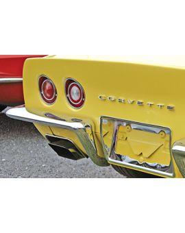 1968-1973 Corvette Rear Bumper - GM Reproduction