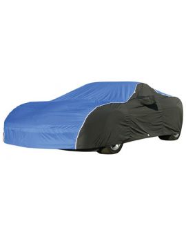 2006-2013 Corvette Z06/ZR1/GS Weathershield Two Tone Car Cover w/ Reflective Welting