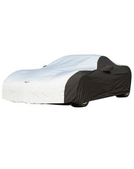 2006-2013 Corvette Z06/ZR1/GS Stormproof Two-Tone Car Cover