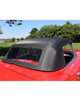 1961-1962 Corvette Convertible Top Assembly - Black