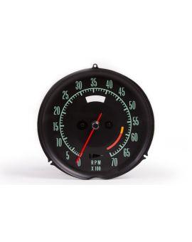 68-71 6000rpm Tachometer (Electronic)