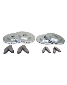 """88-95 12"""" Power Stop Drilled & Slotted Rotors w/Ceramic Brake Pads (Default)"""