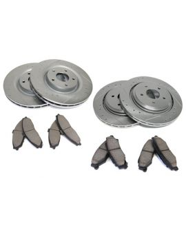05-13 Z51 Power Stop Drilled & Slotted Rotors w/Z26 Warrior Brake Pads