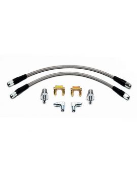 88-96 Wilwood Front Stainless Brake Line Set